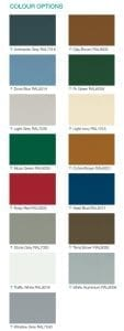 Sectional Garage Door Colour Options from FCDHomeImprovements.co.uk
