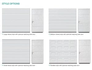 Sectional Garage Door Style Options From FCDHomeImprovements.co.uk