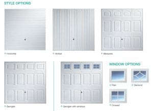 Up and Over Garage Door Style Options From FCDHomeImprovements.co.uk