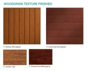 Up and Over Garage Woodgrain Texture Finishes From FCDHomeImprovements.co.uk